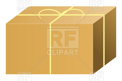400x267 Closed Shipping Box Vector Image Vector Artwork Of Objects