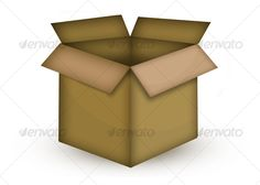 236x168 Vector Icons Of Shipping Boxes Icons, Ships And Box