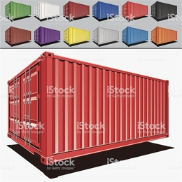 260x260 Download Containers Vector Clipart Shipping Containers Cargo
