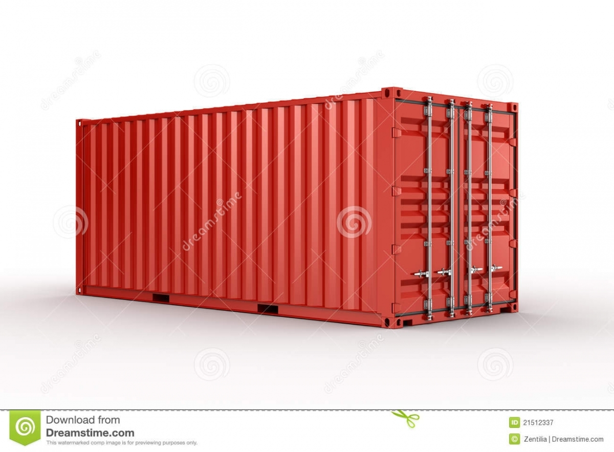 1200x883 Free Cargo Containers In Shipping Container Stock Vector Image