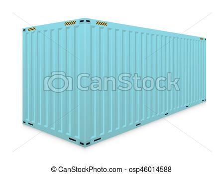 450x349 Cargo Container Vector. Vector Of Cargo Container Or Shipping