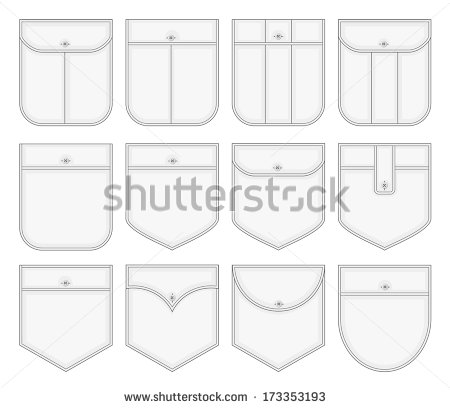 Shirt Pocket Vector