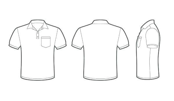 Shirt Pocket Vector At Getdrawings