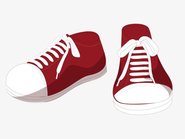 650x489 Casual Shoes Cartoon Vector Material, Shoes Vector, Cartoon Vector