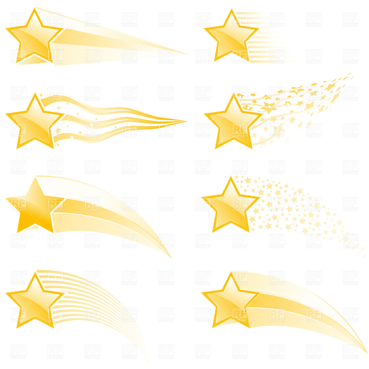 Shooting Star Vector Free