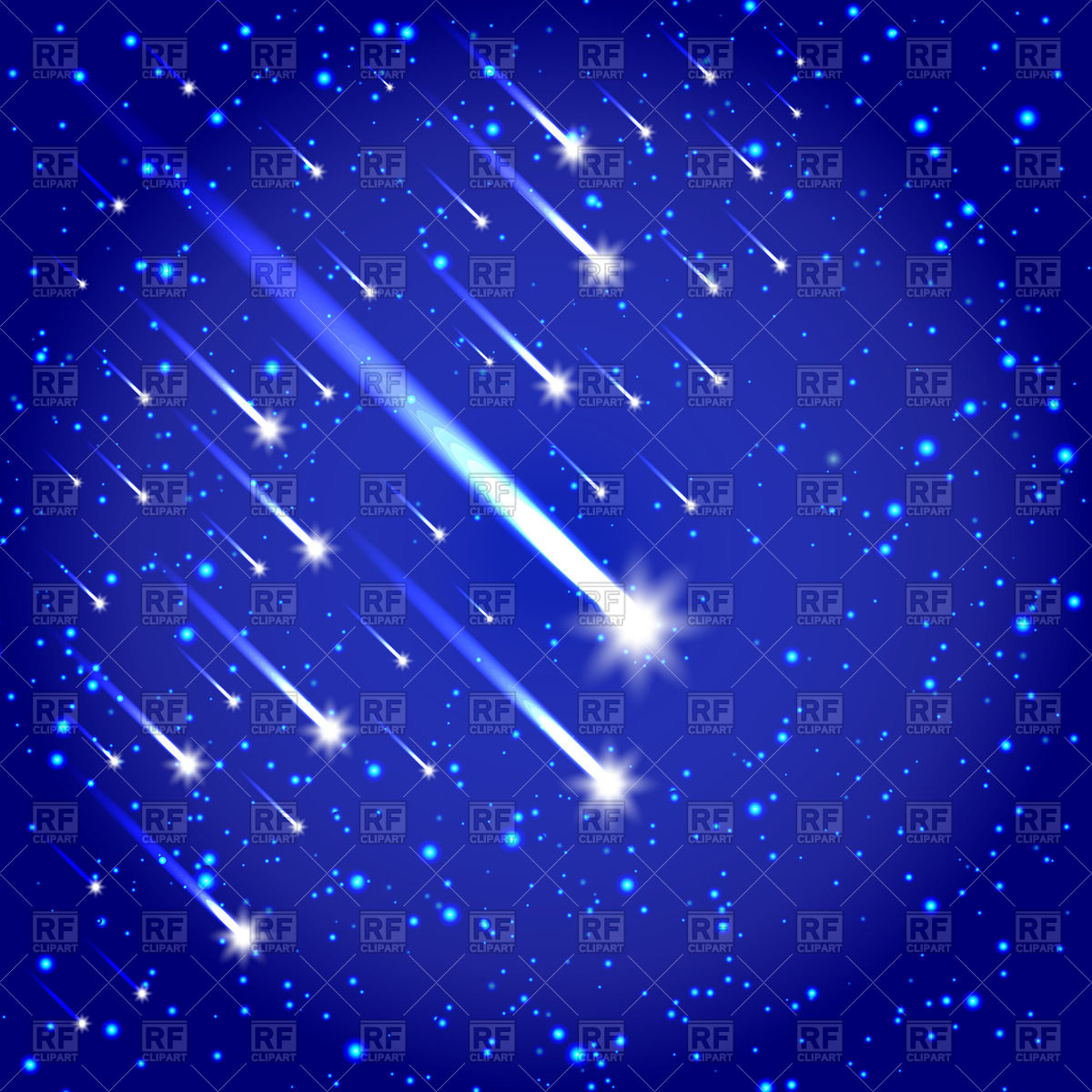 Shooting Star Vector Free Download