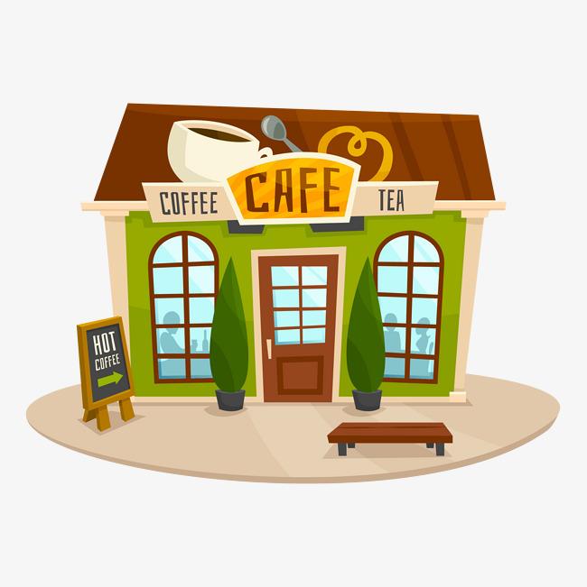 650x651 Vector Coffee Shop, Coffee Vector, Shop Vector, Coffee Shop Png