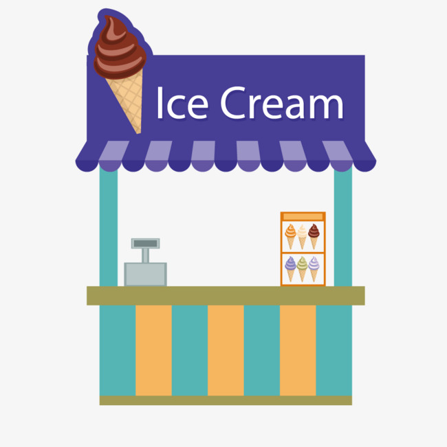 650x651 Vector Ice Cream Shop, Vector Store, Ice Cream, Store Png And