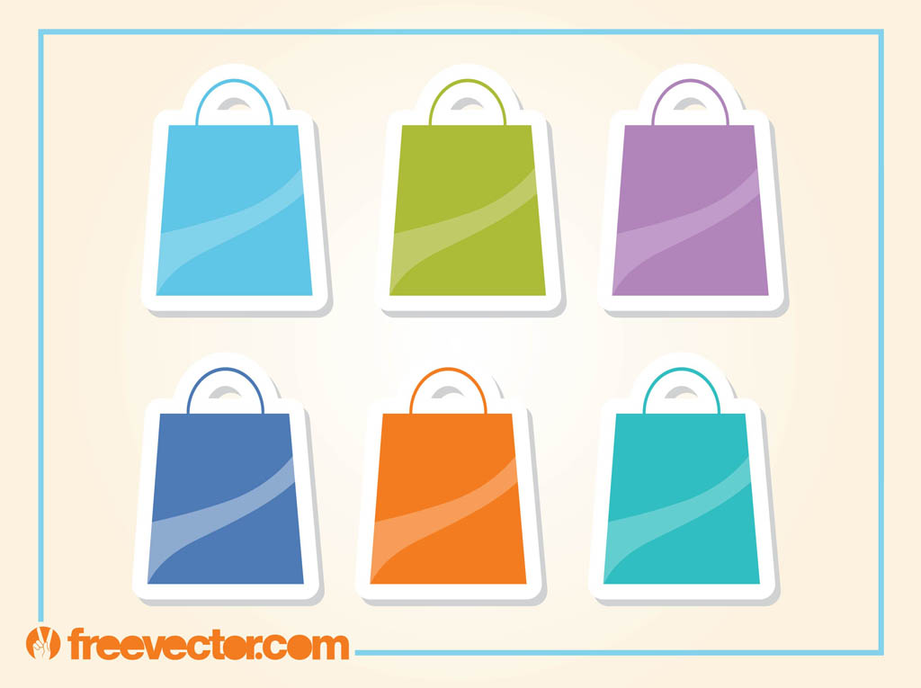 1024x765 Shopping Bags Icons Vector Art Amp Graphics
