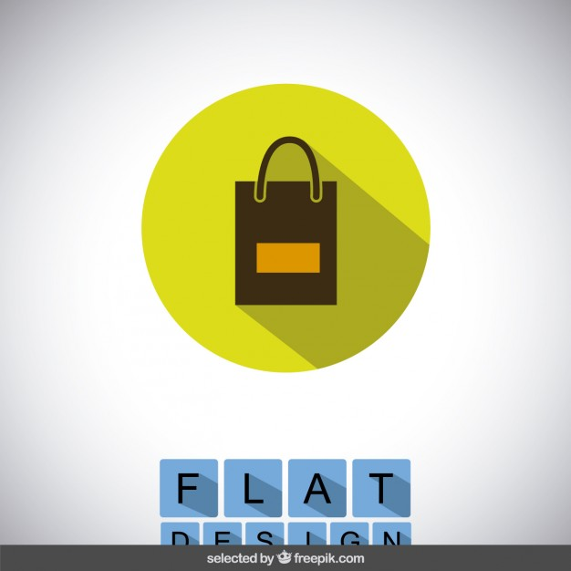 626x626 Shopping Bag Icon Vector Free Download
