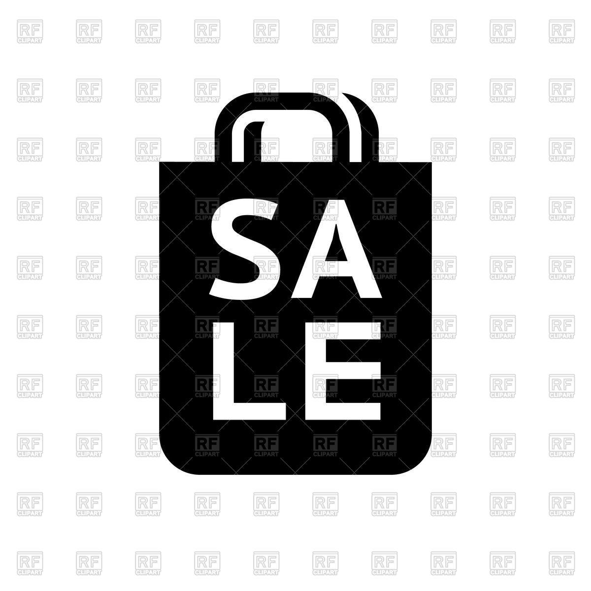 1200x1200 Shopping Bag Icon. Sale. Vector Image Vector Artwork Of Icons