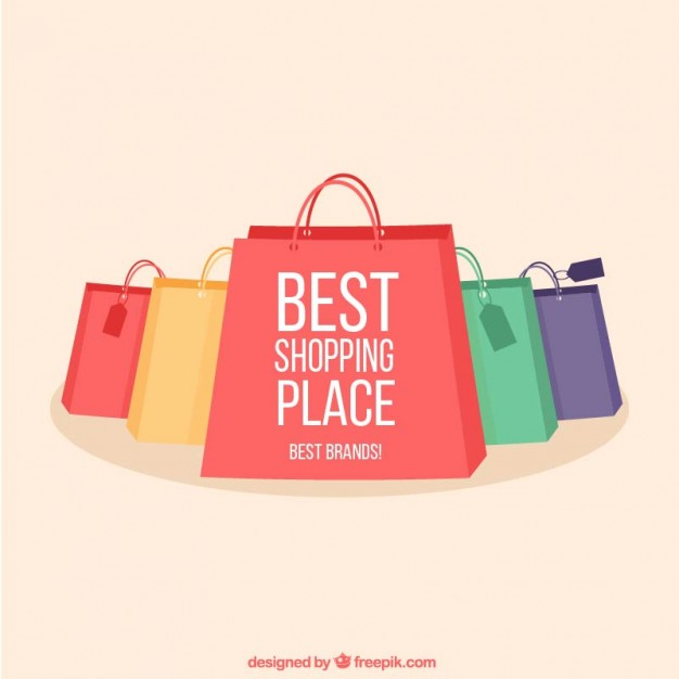 626x626 Shopping Bags Collection Vector Free Download
