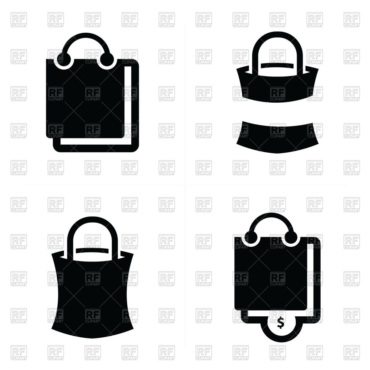 1200x1200 Shopping Bags Icon Vector Image Vector Artwork Of Signs, Symbols