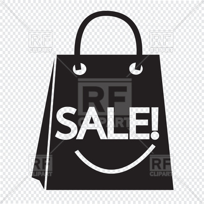 400x400 Sale Shopping Bag Icon Vector Image Vector Artwork Of Objects