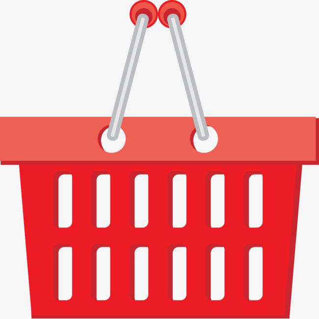 650x649 Supermarket Shopping Basket Vector Material, Vector, Shopping