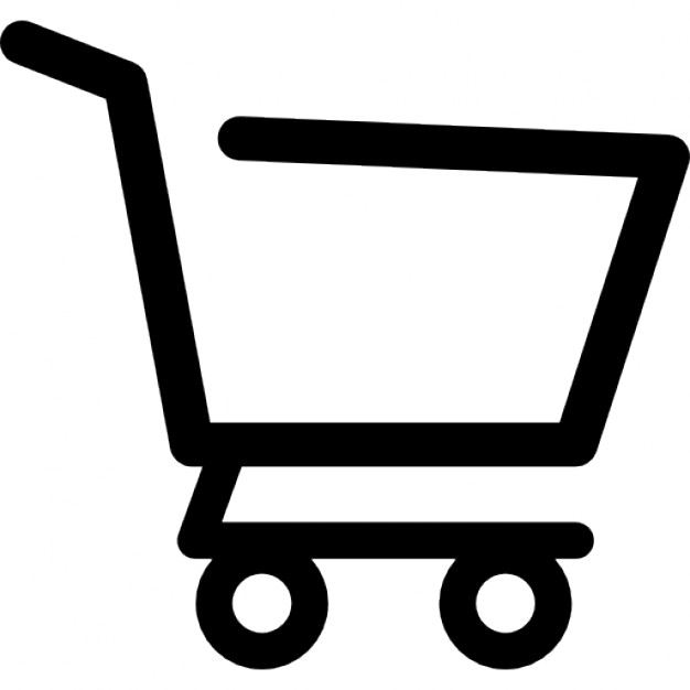 626x626 Shopping Cart Empty Side View Icons Free Download