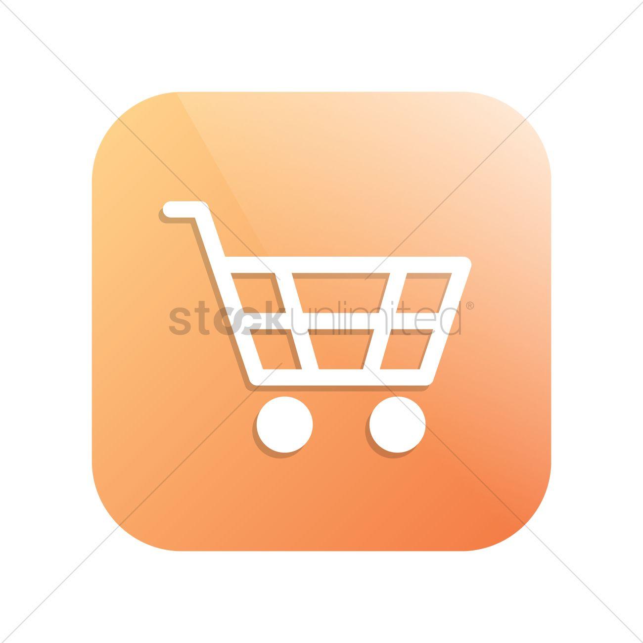 1300x1300 Shopping Cart Icon Vector Image