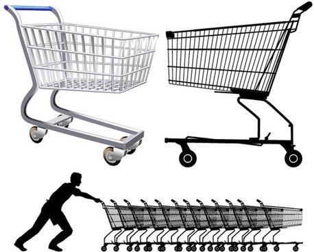 458x368 Shopping Cart Icon Vector Free Vector Download (24,344 Free Vector