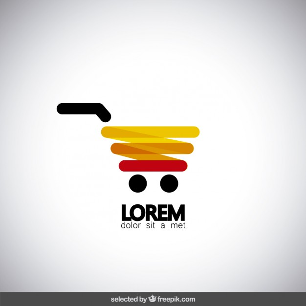 626x626 Modern Shopping Cart Logo Vector Free Download
