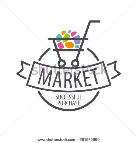 450x470 Round Vector Logo Shopping Cart
