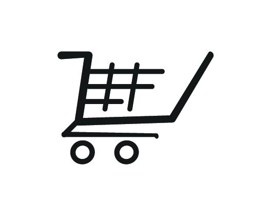 530x400 Shopping Cart (Vector Psd)
