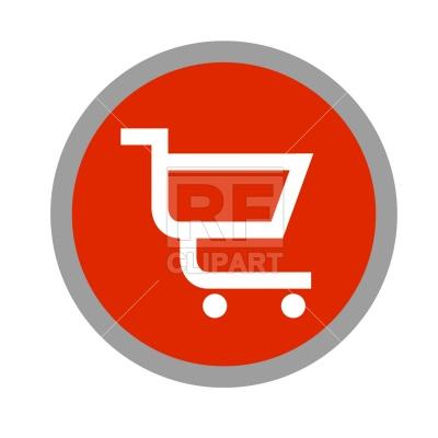 400x400 Shopping Cart Icon Vector Image Vector Artwork Of Business