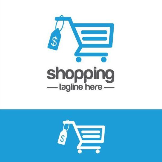 539x539 Shopping Cart Logo Vector Material 01 Free Download