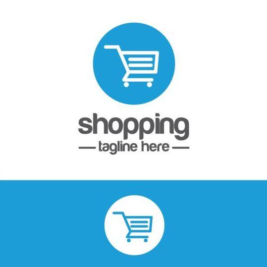 539x539 Shopping Cart Logo Vector Material 02 Free Download