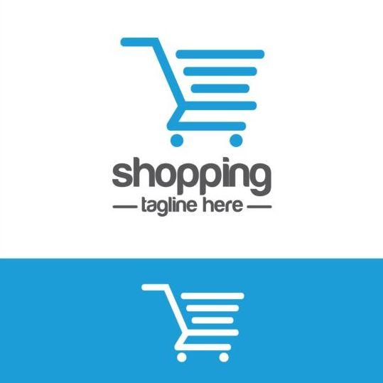 539x539 Shopping Cart Logo Vector Material 04 Free Download