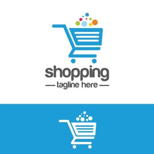 539x539 Shopping Cart Logo Vector Material 07 Free Download