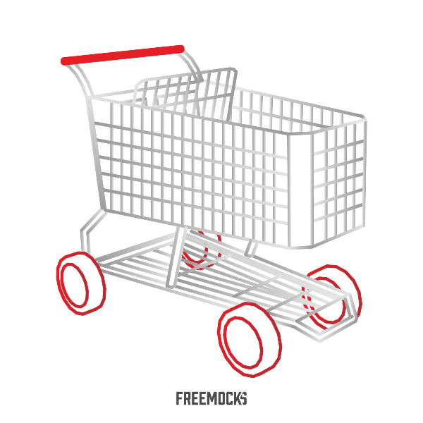 600x600 Freemocks Shopping Cart Vector Sale Offer Super Market