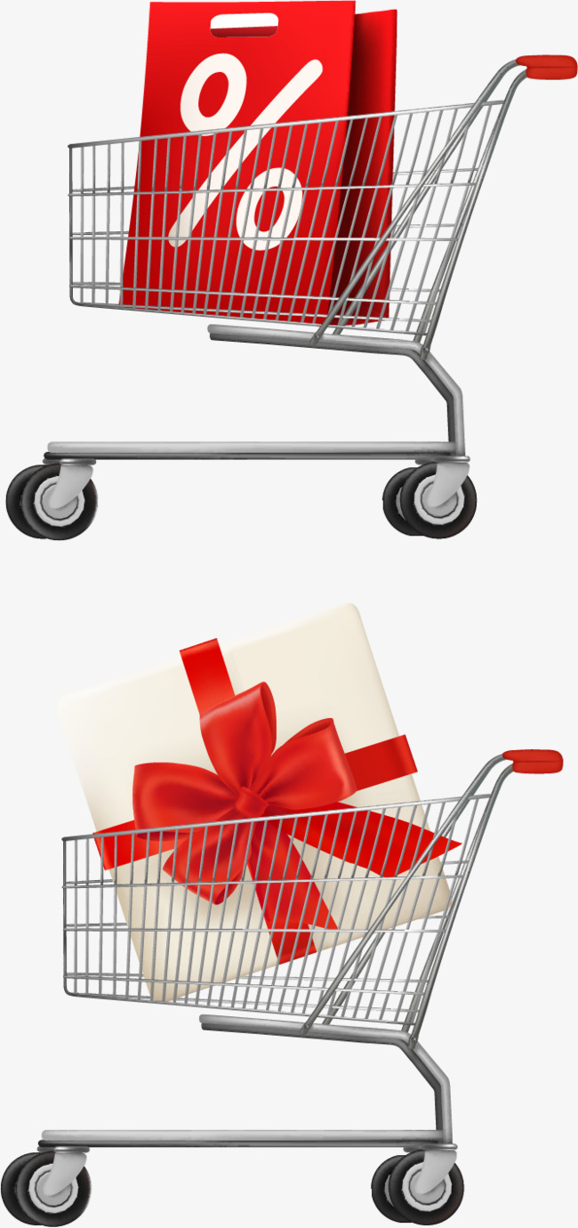 650x1380 Shopping Bag Shopping Cart Vector Elements Png, Shopping Vector