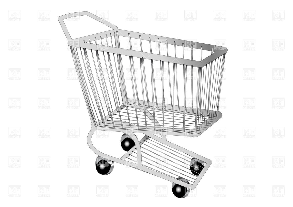 1200x849 Shopping Cart Vector Image Vector Artwork Of Objects Arkela