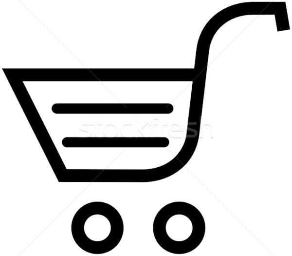 600x525 Shopping Cart Vector Illustration Vector Illustration