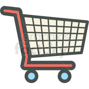 300x300 Royalty Free Shopping Cart Vector Icon Clip Art 406258 Icon