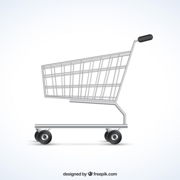 626x626 Shopping Cart Vector Free Download
