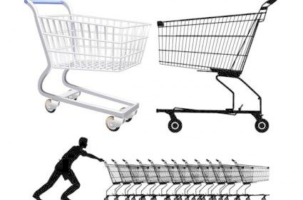 425x281 Supermarket Shopping Cart Vector Free Download Eps Files
