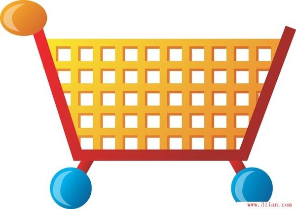 600x424 Supermarket Shopping Cart Vector Free Vector In Adobe Illustrator