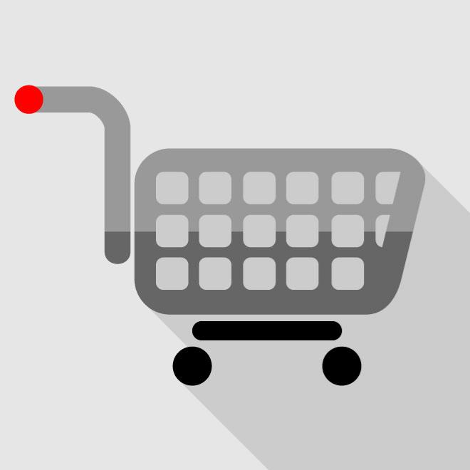 660x660 Shopping Cart Icon Vector Free Icon Packs Ui Download