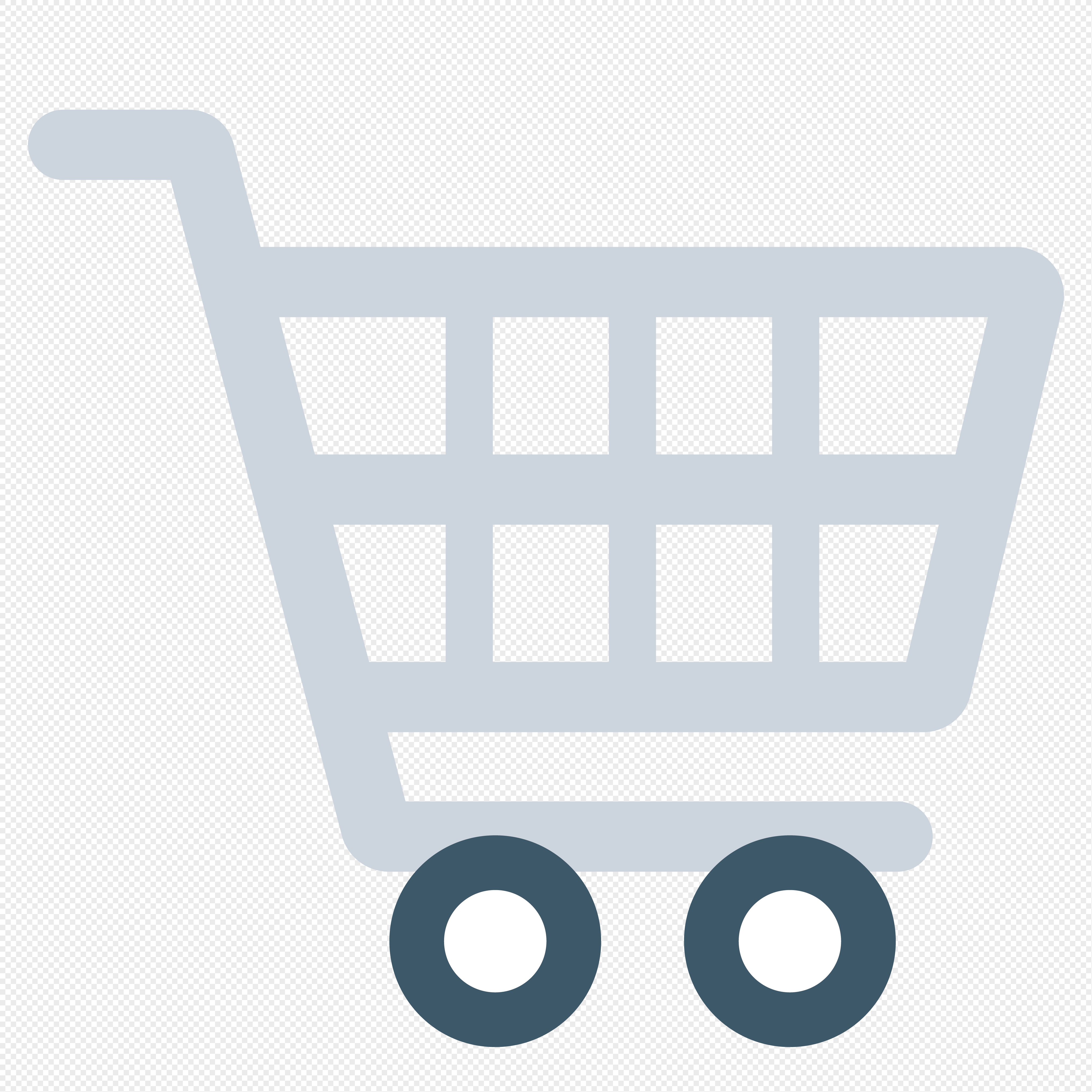 4062x4062 Cartoon Shopping Cart Vector Material Png Image Picture Free