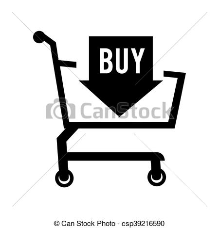 450x470 Cart Online Shopper Sale Buy Shopping Icon Vector Graphic. Cart