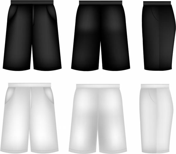 600x527 Shorts Free Vector In Adobe Illustrator Ai ( .ai ), Encapsulated