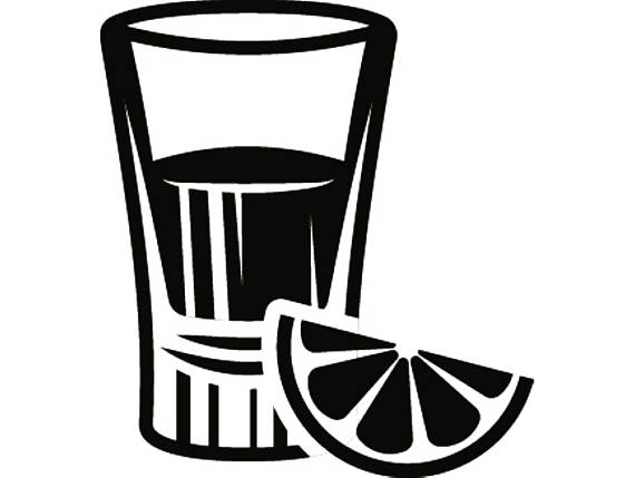 Shot Glasses Vector