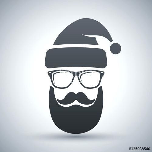 500x500 Santa Claus Glasses Round Rimless Santa Claus Shot Glasses