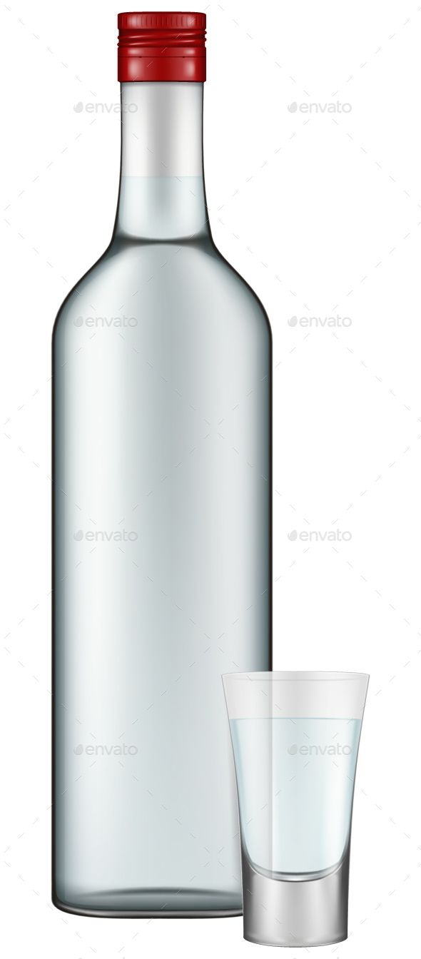 590x1344 Vodka Bottle And Shot Vodka Bottle, Bottle And Graphics