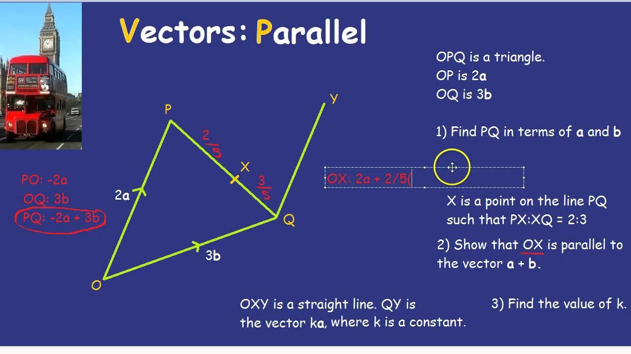 1280x720 Vectors Parallel