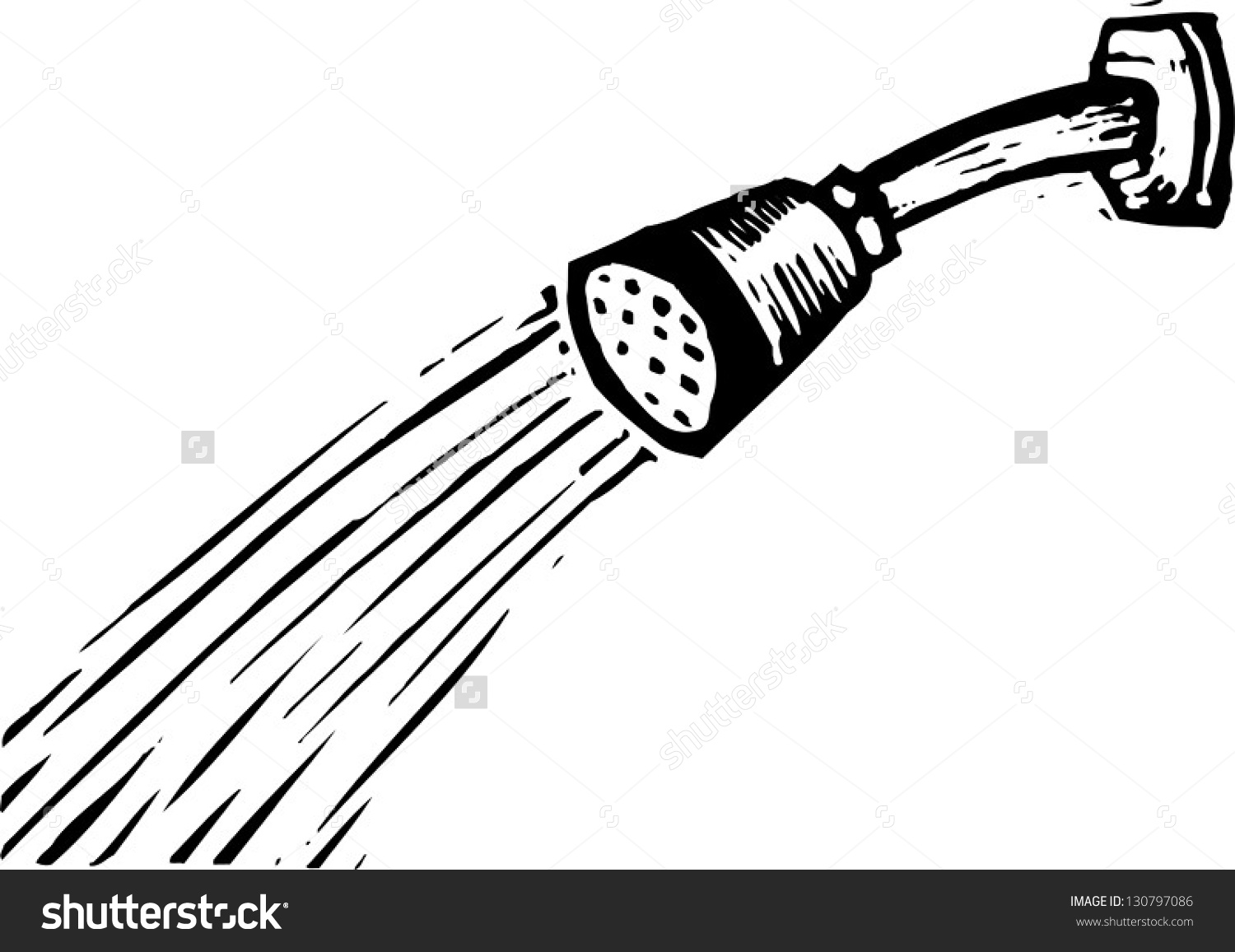1500x1156 Shower Head Clipart Black And White Amp Shower Head Clip Art Black