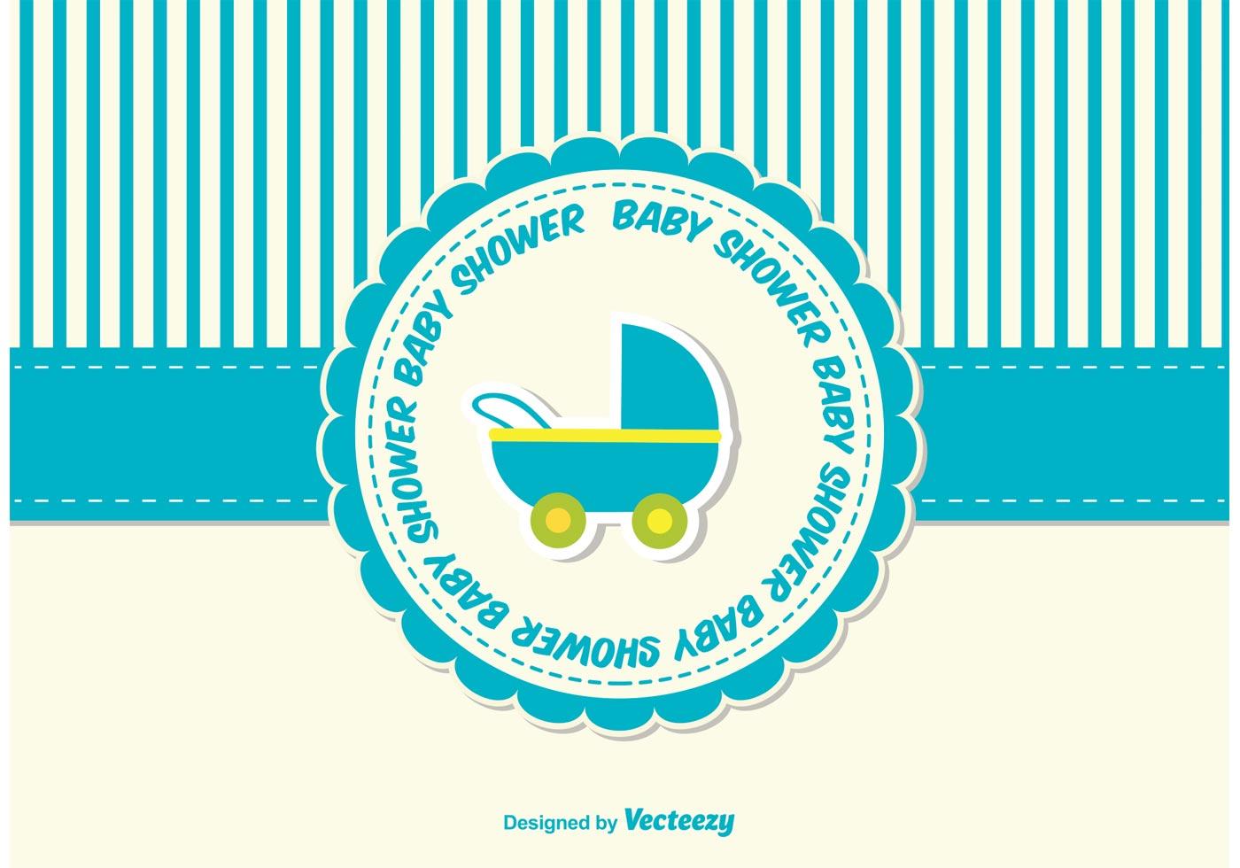 1400x980 Baby Shower Card