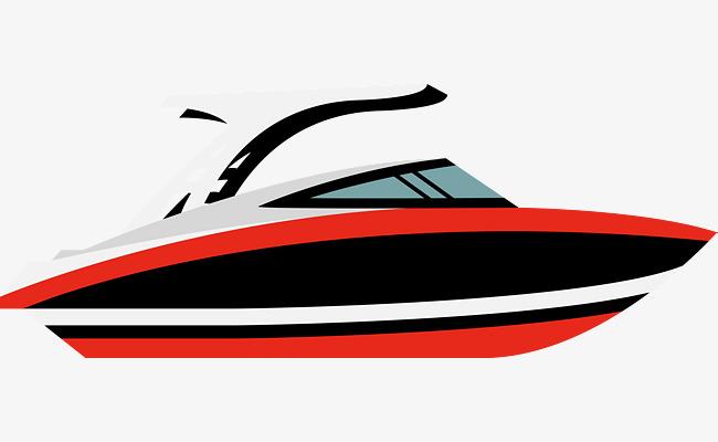 650x400 Red Cartoon Boat, Cartoon Vector, Boat Vector, Ship Png And Vector