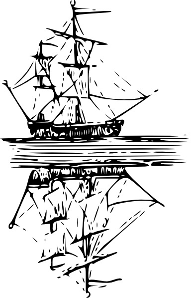 384x597 Shrimp Boat Clip Art Free